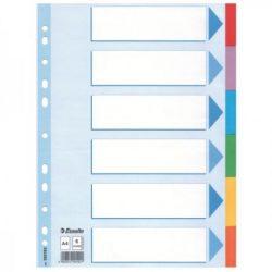Regiszter Ess 100192 A/4 6 részes standard