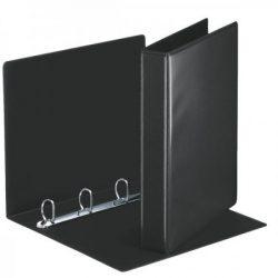 Panorámás gyűrűskönyv 49717 4gy-50mm fekete