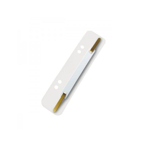 Gyorsfűzőlap Ess 1430618 fehér (100db)