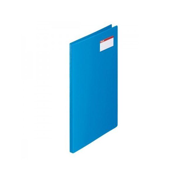 Villámzáras mappa Ess 27345 A/4 kék