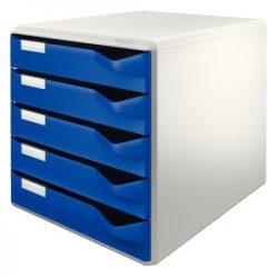 LEITZ STANDARD 5 fiókos irattároló 52800035 kék