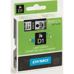 Dymo S0720770 (43610) D1 6mm*7m fek/vízt kazetta