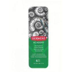 Derwent grafit vázlatceruza 6db (3B-2H) 2301945