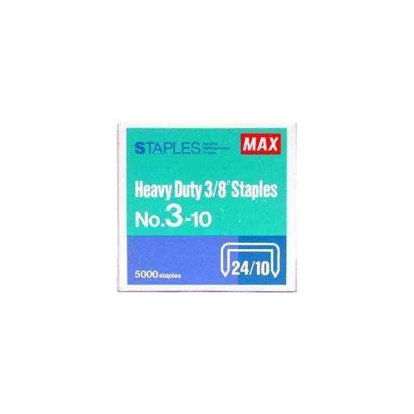 Tűzőkapocs Max 3-10 (24/10 HD-3DF-hez)
