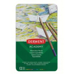 Derwent fémdobozos akvarel színesceruza12db 2301941