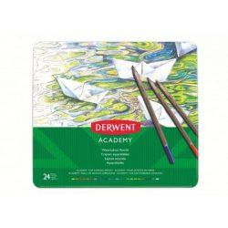 Derwent fémdobozos akvarel színesceruza 24db 2301942