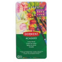 Derwent fémdobozos színesceruza 12db 2301937