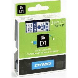 Dymo S0720690 (40914) D1 9mm*7m kék/feh kazetta