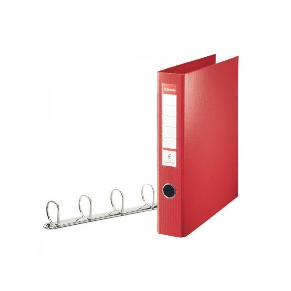 VIVIDA JUMBO Gyűrűskönyv 4gy-58mm 82403 piros