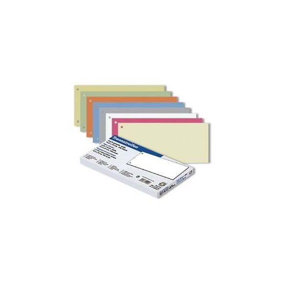 Elválasztócsík 24 cm kék (100lap)