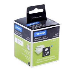 Dymo Etikett S0722370 (99010) LW 89*28mm fehér