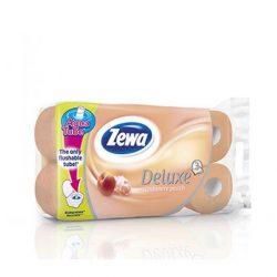 """Toalettpapír, 3 rétegű, 16 tekercses, ZEWA """"Deluxe, barack"""