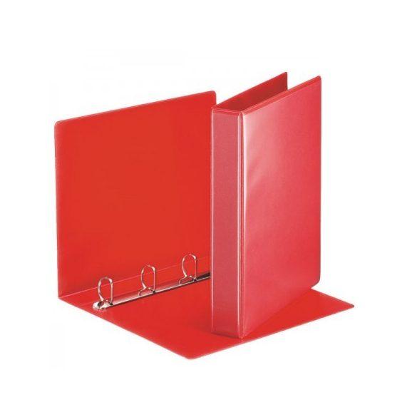 Panorámás gyűrűskönyv 49713 4gy-50mm piros