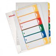 Regiszter Ess 100212 A/4 1-6-ig nyomtatható