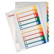 Regiszter Ess 100213 A/4 1-10-ig nyomtatható