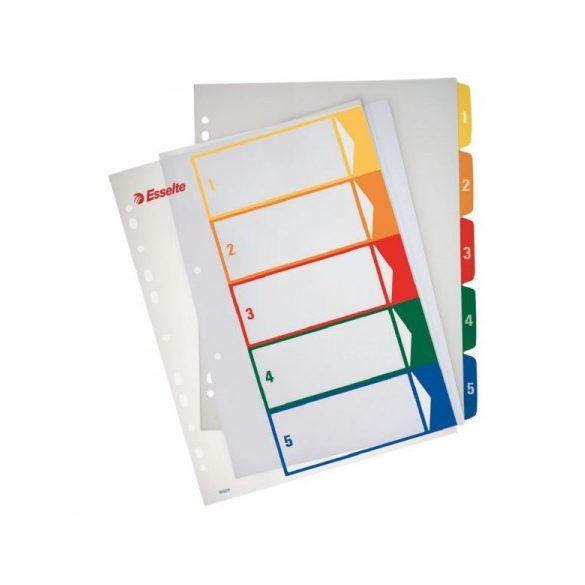 Regiszter Ess 100211 A/4 1-5-ig nyomtatható