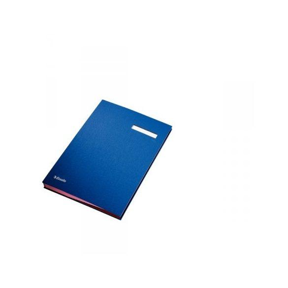 Aláírókönyv Ess 621063 kék MSZ*x*x*
