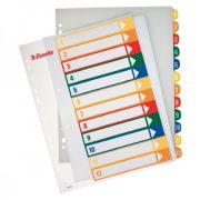 Regiszter Ess 100214 A/4 1-12-ig nyomtatható