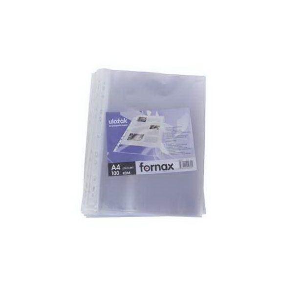 Lefűzhető FORNAX tasak A/4 (40mic) 100db/cs