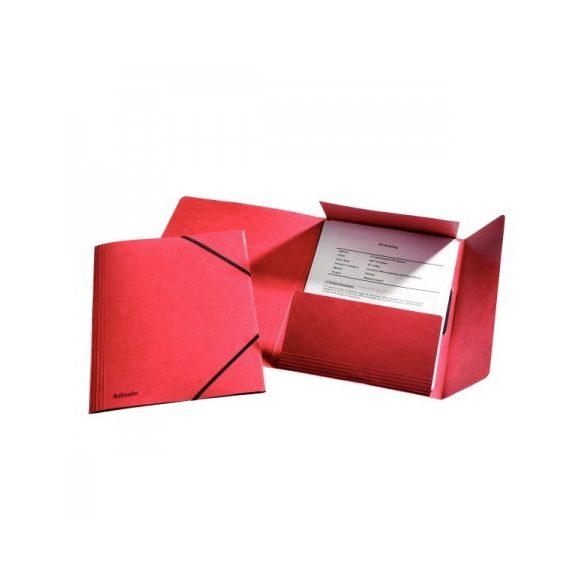 Gumis mappa Ess 26593 luxus krt piros (1326515)