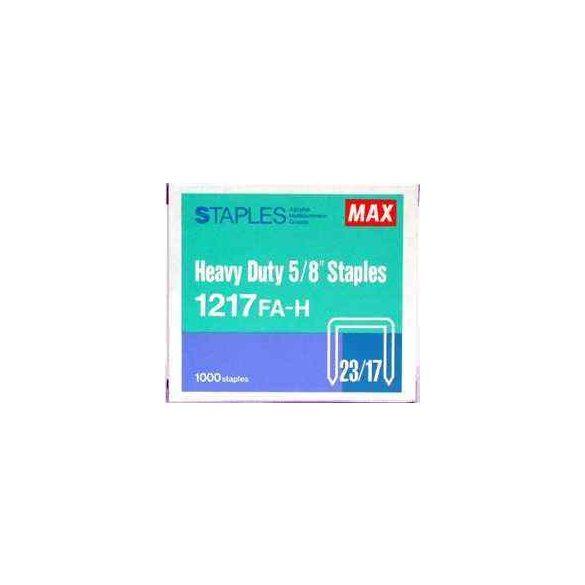 Tűzőkapocs Max 1217 (23/17,HD-12F,L/17,N/17,N/24, 1215)