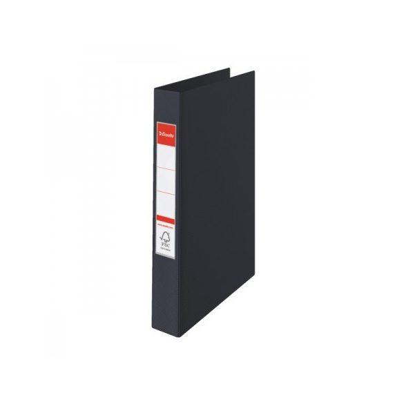 VIVIDA Gyűrűskönyv 4gy-4cm 14462 fekete