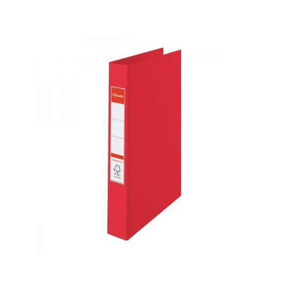 VIVIDA Gyűrűskönyv 2gy-4cm 14451 piros