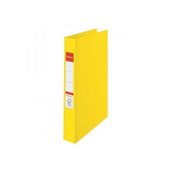 VIVIDA Gyűrűskönyv 2gy-4cm 14450 sárga