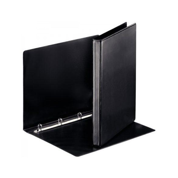 Panorámás gyűrűskönyv 49753 4gy-25mm fekete