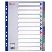 Regiszter Ess 20649 A/4 Maxi műa.színes 12részes