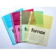 Lefűzhető FORNAX tasak A/4 (55mic) 50db/cs sárga