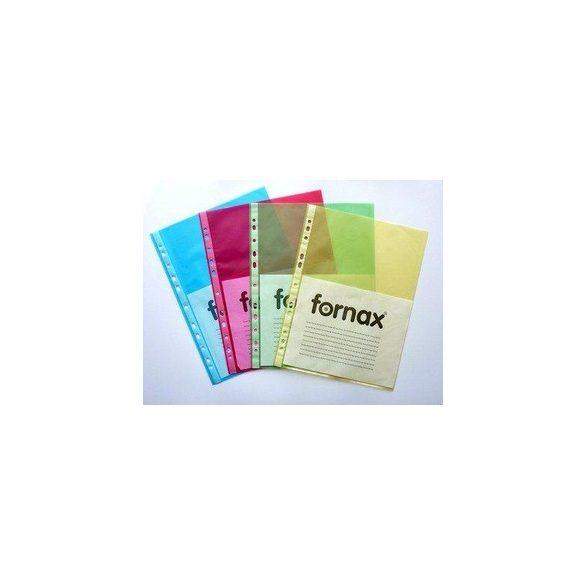 Lefűzhető FORNAX tasak A/4 (55mic) 50db/cs kék
