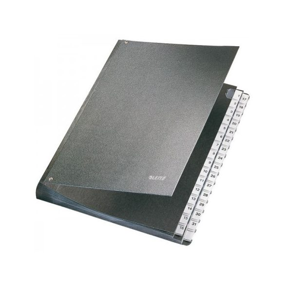 Karton előrendező 58310095 fekete 1-31