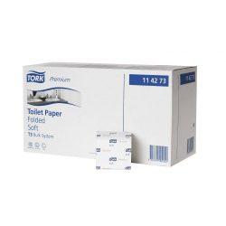 TORK 114273 Premium hajtogatott toalett (kisz:30) H