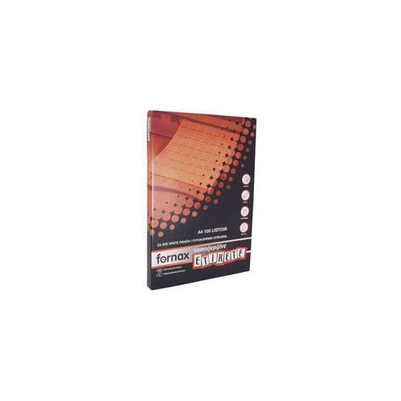 FORNAX etikett 48,5 x 25,4 mm F-11