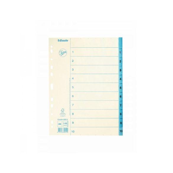 Regiszter Ess 69912 A/4 1-10-ig papír