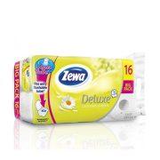 """Toalettpapír, 3 rétegű, 16 tekercses, ZEWA """"Deluxe, kamilla"""