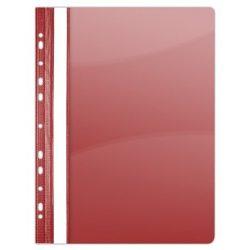 Gyorsfűző, lefűzhető, PVC, A4, DONAU, piros