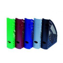 Iratpapucs, műanyag, 70 mm, DONAU, kék