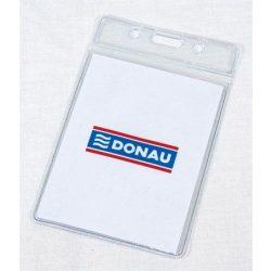 Azonosítókártya tartó, 92x59 mm, hajlékony, függőleges, DONAU