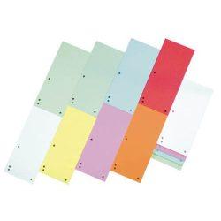 Elválasztócsík, karton, DONAU, vegyes színek