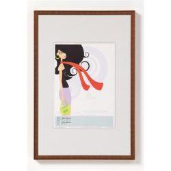 """Képkeret, műanyag, 10x15 cm,  """"New  Lifestyle"""",  bronz"""
