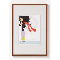 """Képkeret, műanyag, 13x18 cm,  """"New  Lifestyle"""",  bronz"""