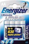 "Elem, AA ceruza, 4 db, Lítium, ENERGIZER ""Ultimate Lithium"""