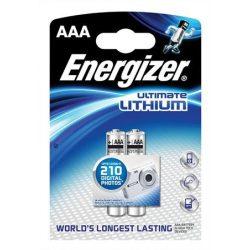 "Elem, AAA mikro, 2 db, Lítium, ENERGIZER ""Ultimate Lithium"""