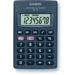 """Számológép, zseb, 8 számjegy, CASIO """"HL-4T"""""""
