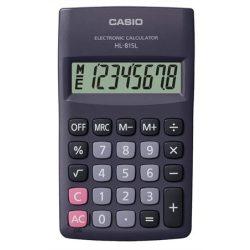 """Számológép, zseb, 8 számjegy, CASIO """"HL-815"""""""
