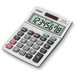 """Számológép, asztali, 8 számjegy, CASIO """"MS-80"""""""