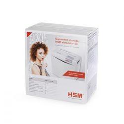 Iratmegsemmisítő 5 lap 6mm HSM S5 fehér