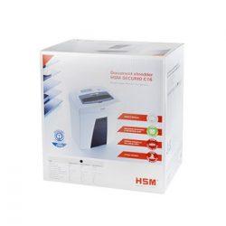 Iratmegsemmisítő 6-7 lap 3,9mm HSM SECURIO C16